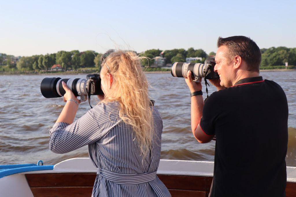 Umsetzung des Erlernten beim Fotokurs Hamburg