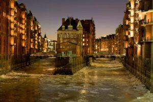 Wasserschloss Hamburg, aufgenommen während eines Fotokurs in Hamburg