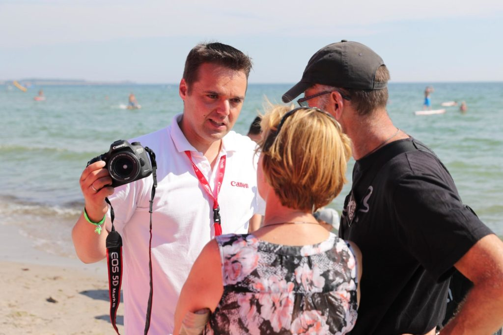Fotokurs am Strand